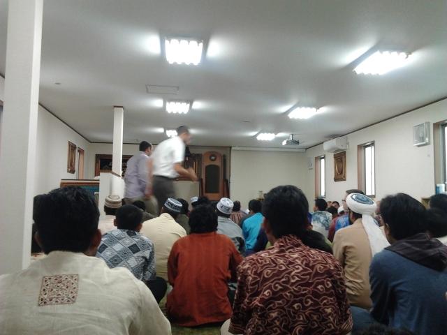 Lebaran di Masjid Umar bin Khottob, Kanazawa, Jepang