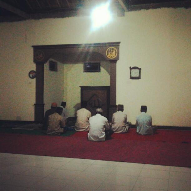 Masjid Al Ikhlas Palembapang Kec Kalianda Lampung Selatan