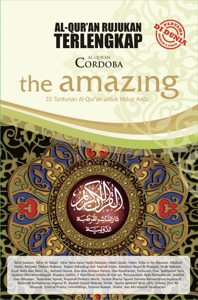 Al Quran The Amazing RP 295,000.00 (Belum Termasuk Ongkos Kirim)