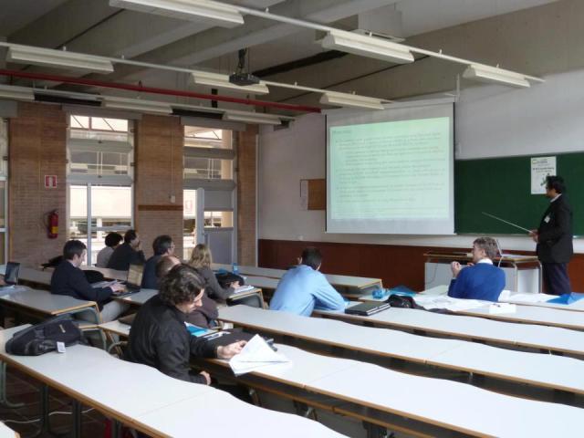 Presentasi TD di Cost IC1004, Malaga, Spain, 6 Feb 2013